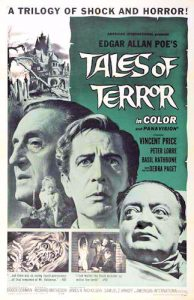 Wednesday Halloween Double Feature - Corman and Price do Poe Tales of terror