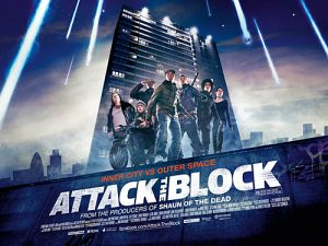 Wednesday double features invaders attack the block