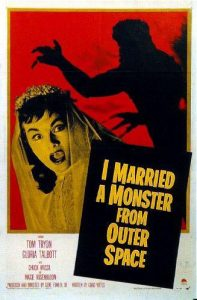 Wednesday double features invaders I married a monster from outer space
