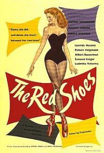 For this week's ballet double feature the red shoes
