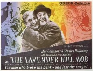 Wednesday Double Feature, The Lavender Hill Mob