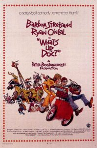 "Wednesday Double Features Barbara Streisand comedies ""What's up doc"""