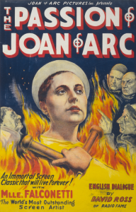 Wednesday Double Feature - Joan of Arc - Th Passion of Joan of Arc