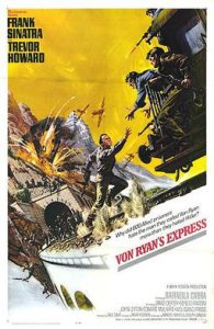 Wednesday Double Feature - Frank Sinatra Action Hero Von Ryan's Express