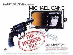 Wednesday Double Feature - Harry Palmer  - The Ipcress file