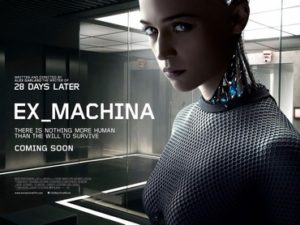 Wednesday Double Feature - Love and Artificial Intelligence? - ex-machina