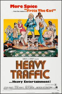 Wednesday Double Feature - The Adult Cartoon of Ralph Bakshi - Heavy Traffic