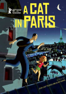 Wednesday Double Feature French Animation, Animals and Crime - A cat in Paris