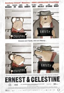 Wednesday Double Feature French Animation, Animals and Crime - Ernest and Celestine