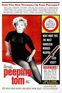 Wednesday Double Features - Artistic Serial Killer Film - Peeping Tom